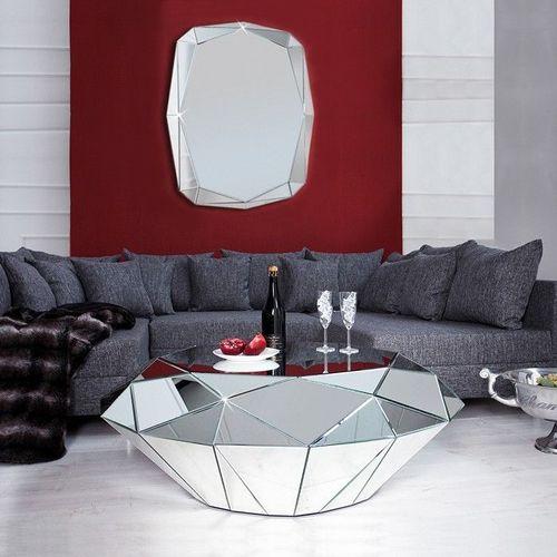 XL Wandspiegel DIAMANT mit Facettenschliff & 20 Spiegelflächen 120cm x 85cm - 3