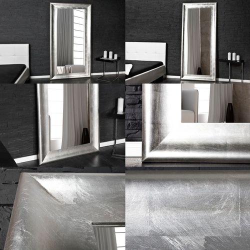XXL Romantischer Wandspiegel AVIGNON Silber Antik 180cm x 80cm | Vertikal oder horizontal aufhängbar! - 4
