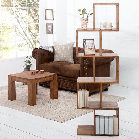 Regal AGRA Sheesham massiv Holz gewachst 150cm x 50cm - 3