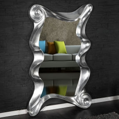 XL Wandspiegel ROMANTICA Silber 160cm x 106cm | Vertikal oder horizontal aufhängbar! - 1