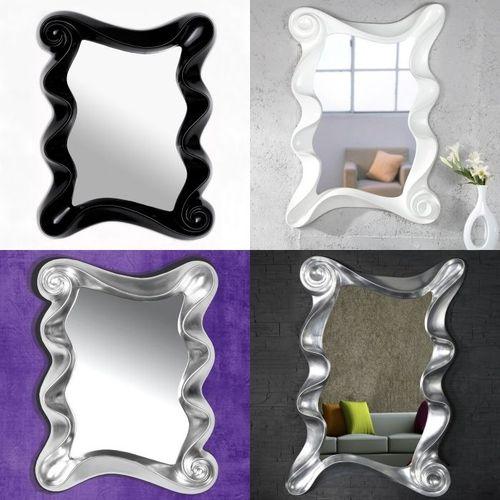 XL Wandspiegel ROMANTICA Silber 160cm x 106cm | Vertikal oder horizontal aufhängbar! - 10