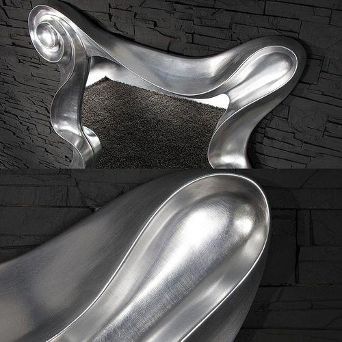 XL Wandspiegel ROMANTICA Silber 160cm x 106cm | Vertikal oder horizontal aufhängbar! - 2