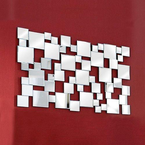 XL Wandspiegel MULTIPLEX mit Facettenschliff & 55 Spiegelflächen 140cm x 85cm - 1