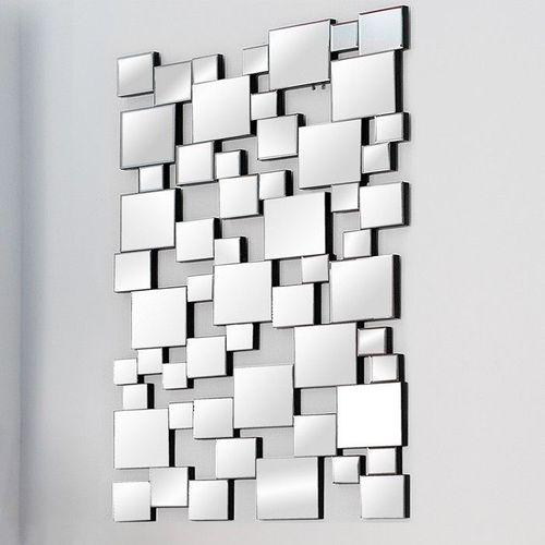 XL Wandspiegel MULTIPLEX mit Facettenschliff & 55 Spiegelflächen 140cm x 85cm - 2