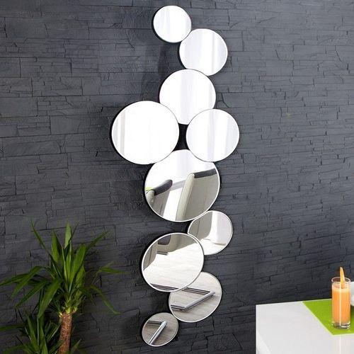 XL Wandspiegel BUBBLES mit 10 runden Spiegelflächen 145cm x 50cm | Vertikal oder horizontal aufhängbar! - 2