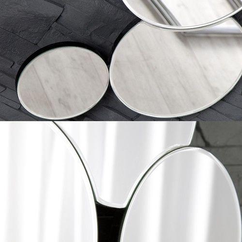 XL Wandspiegel BUBBLES mit 10 runden Spiegelflächen 145cm x 50cm | Vertikal oder horizontal aufhängbar! - 3