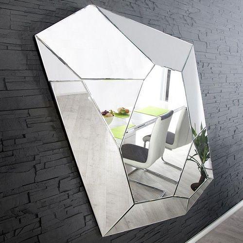 XL Wandspiegel FACETTO mit Facettenschliff & 11 Spiegelflächen 165cm x 115cm | Vertikal oder horizontal aufhängbar! - 1