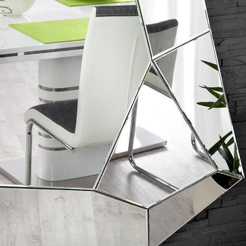 XL Wandspiegel FACETTO mit Facettenschliff & 11 Spiegelflächen 165cm x 115cm | Vertikal oder horizontal aufhängbar! - 2