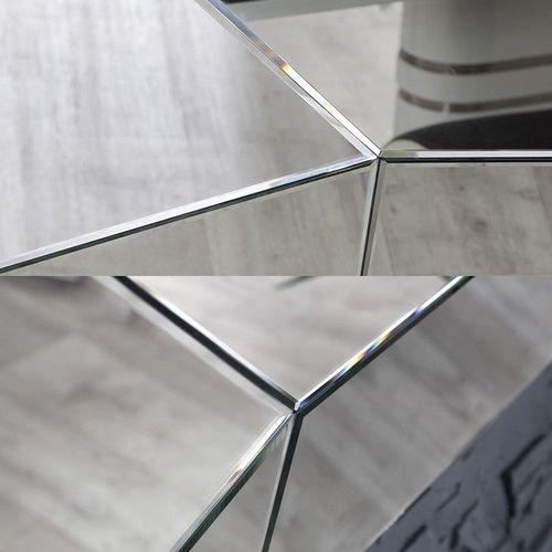 XL Wandspiegel FACETTO mit Facettenschliff & 11 Spiegelflächen 165cm x 115cm | Vertikal oder horizontal aufhängbar! - 3