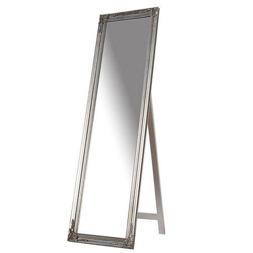 Romantischer Standspiegel LAVAL Silber in Barock-Design 160cm x 45cm - 1