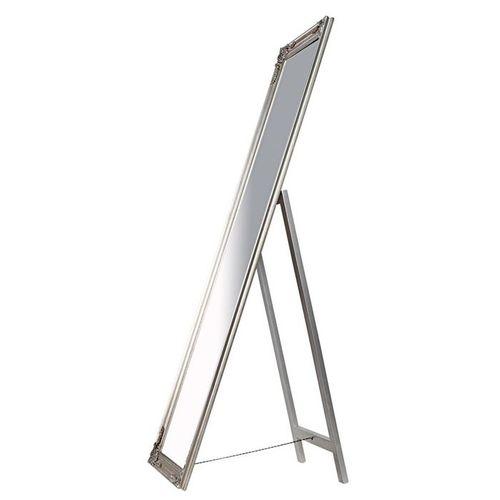 Romantischer Standspiegel LAVAL Silber in Barock-Design 160cm x 45cm - 2