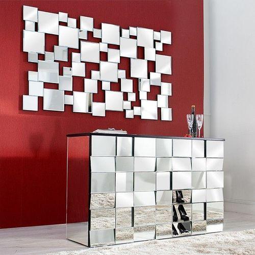 Sideboard MULTIPLEX mit Facettenschliff & 44 Spiegelflächen 130cm - 2