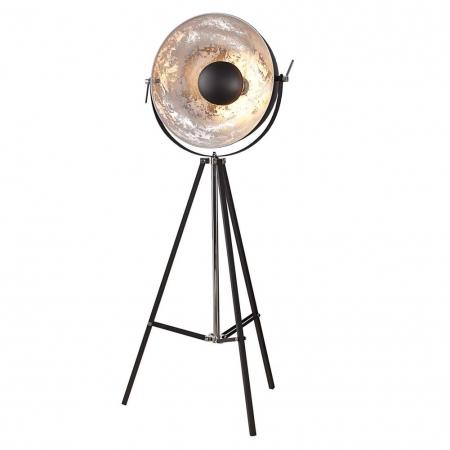 Stehlampe SPOT Schwarz-Silber 160cm Höhe verstellbar - 3