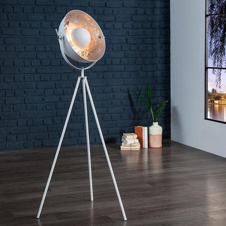 Stehlampe SPOT Weiß-Silber 140cm Höhe - 2