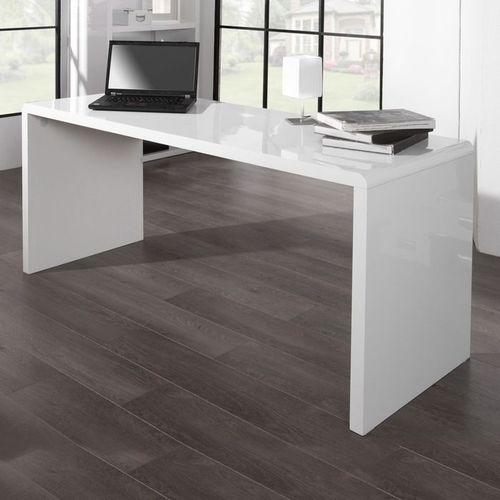 Schreibtisch SOHO Weiß Hochglanz 160cm - 1