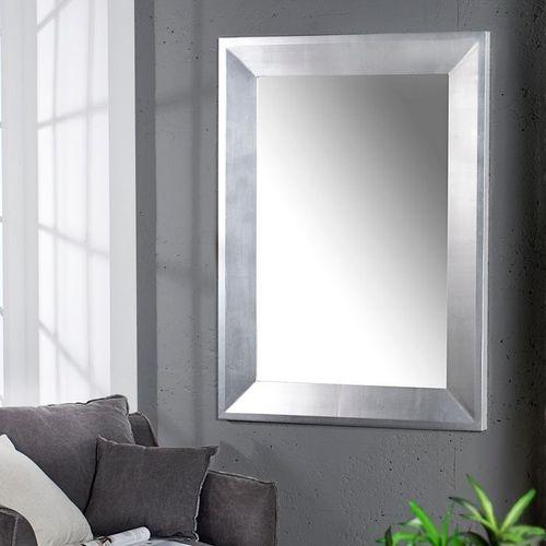 Zeitlos eleganter Wandspiegel DANA Silber 110cm x 90cm | Vertikal oder horizontal aufhängbar! - 1