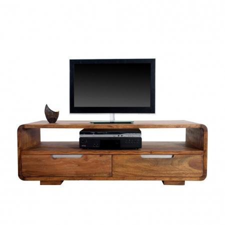TV-Tisch DAIPUR Sheesham massiv Holz gewachst 130cm - 3