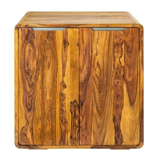 Barschrank DAIPUR Sheesham massiv Holz gewachst 100cm x 90cm - 5