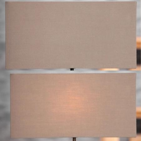 Tischlampe AMBON Braun aus Treibholz handgefertigt 40cm Höhe - 2