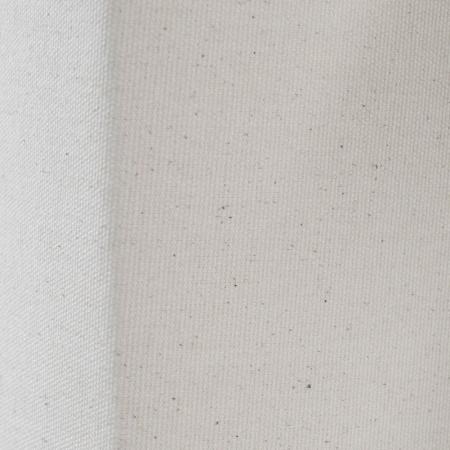 Stehlampe LOOP Beige aus Leinen & Kunstleder eckig 160cm Höhe - 4