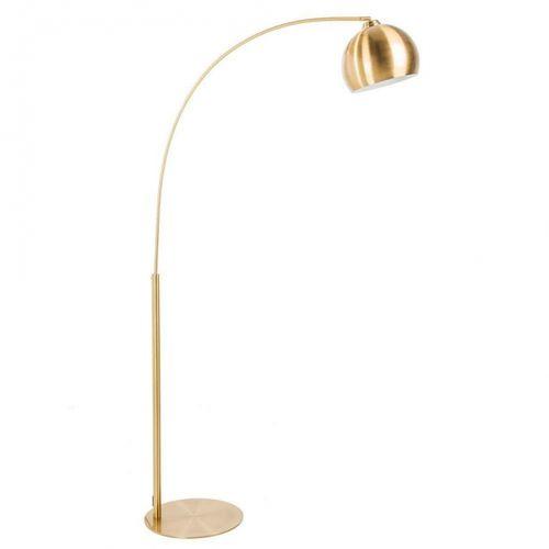 Bogenlampe LUXX Gold glänzend mit Goldfuß 205cm Höhe - 4