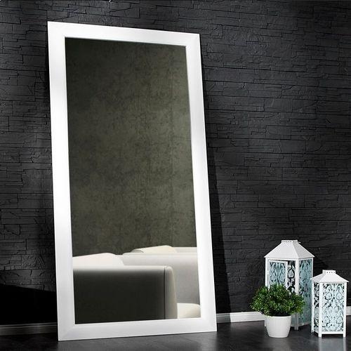 XXL Zeitlos Romantischer Wandspiegel LILLE Weiß in Klassik-Design 180cm x 85cm | Vertikal oder horizontal aufhängbar! - 1