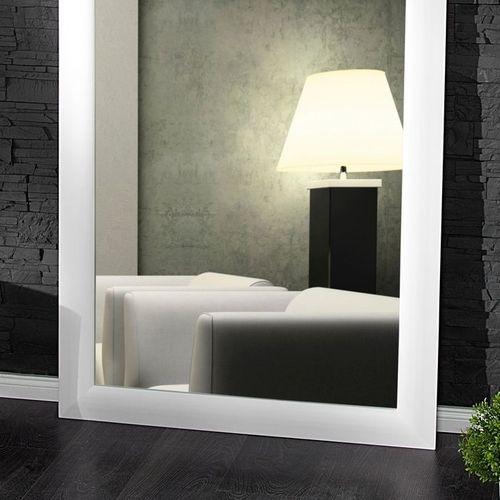 XXL Zeitlos Romantischer Wandspiegel LILLE Weiß in Klassik-Design 180cm x 85cm | Vertikal oder horizontal aufhängbar! - 2