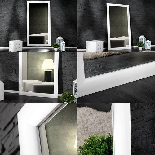 XXL Zeitlos Romantischer Wandspiegel LILLE Weiß in Klassik-Design 180cm x 85cm | Vertikal oder horizontal aufhängbar! - 3