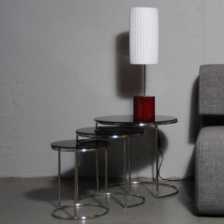 Tischlampe LOOP Weiß 60cm Höhe - 1