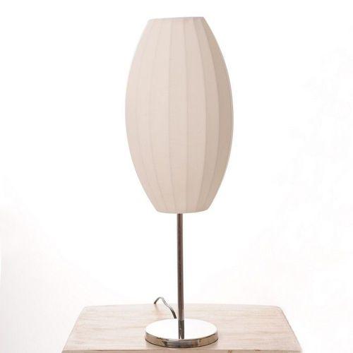 Tischlampe LOOP Ellipse Weiß 60cm Höhe - 1