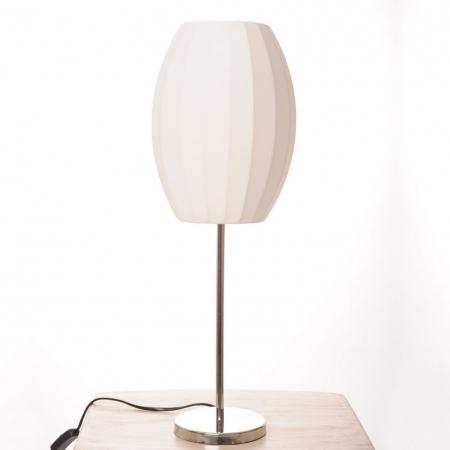 Tischlampe LOOP Prisma Weiß 60cm Höhe - 1