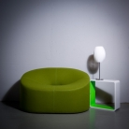 Tischlampe LOOP Prisma Weiß 60cm Höhe - 3