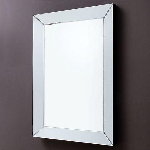 Eleganter Wandspiegel IMPRESSION mit Spiegelrahmen 90cm x 60cm | Vertikal oder horizontal aufhängbar! - 2