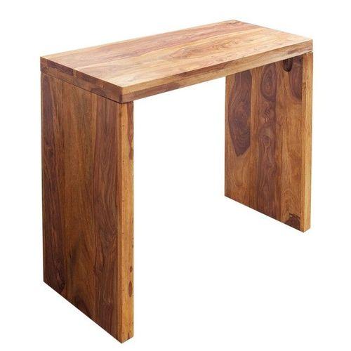 Schreibtisch SATNA Sheesham massiv Holz gewachst 100cm x 40cm - 3