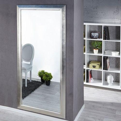 XXL Zeitlos Romantischer Wandspiegel LILLE Silber in Klassik-Design 180cm x 85cm | Vertikal oder horizontal aufhängbar! - 1