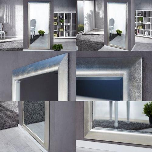 XXL Zeitlos Romantischer Wandspiegel LILLE Silber in Klassik-Design 180cm x 85cm | Vertikal oder horizontal aufhängbar! - 3