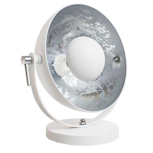 tischlampe spot wei silber 40cm h he portofrei kaufen cag onlineshop designerm bel. Black Bedroom Furniture Sets. Home Design Ideas