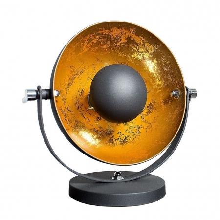 Tischlampe SPOT Schwarz-Gold 40cm Höhe - 1