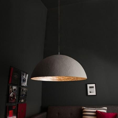 Hängelampe BOL Beton-Silber 50cm Ø - 1