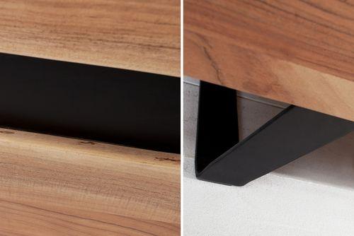 Sideboard AMBA Akazie Massiv mit naturbelassener Kante 150cm - 3