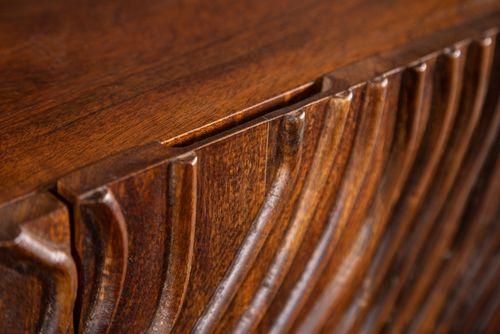 Sideboard MYANMAR Braun Mango Massivholz 160cm - 2