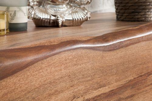 Sideboard AMBA Sheesham Massivholz mit naturbelassenen Kanten 170cm - 3