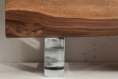 Sideboard AMBA Sheesham Massivholz mit naturbelassenen Kanten 170cm - 4