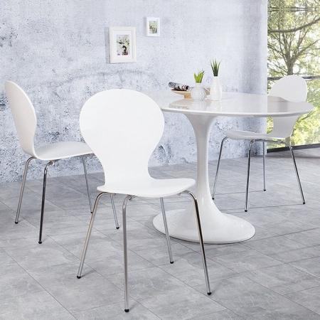 Stuhl JACOBSEN Weiß - 1