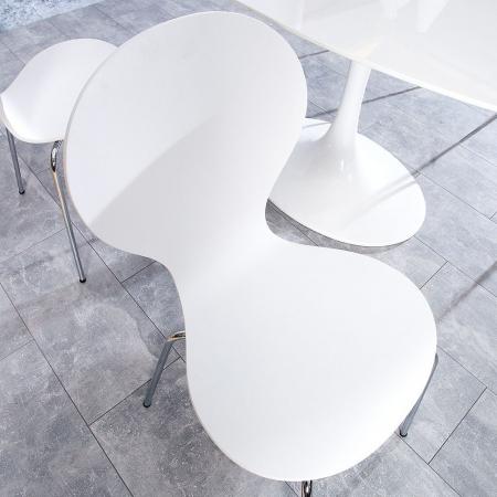 Stuhl JACOBSEN Weiß - 2
