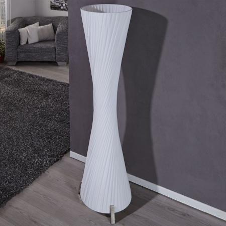 XL Stehlampe LOOP Weiß Kegelform Rund 160cm Höhe - 3