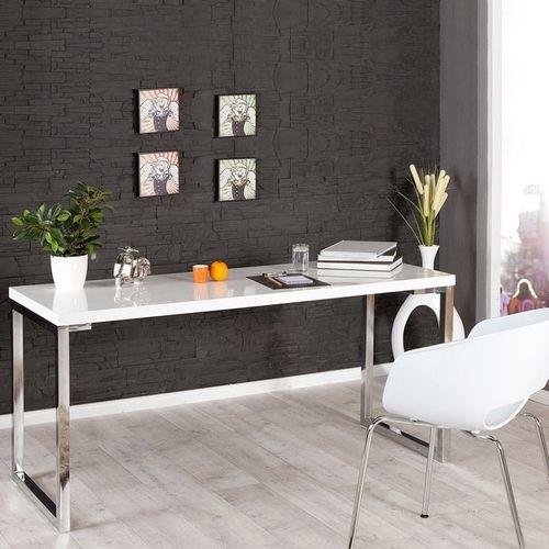 Schreibtisch OXFORD Weiß Hochglanz 160cm x 60cm - 2