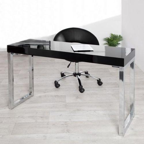 schreibtisch princeton schwarz hochglanz 120cm portofrei. Black Bedroom Furniture Sets. Home Design Ideas