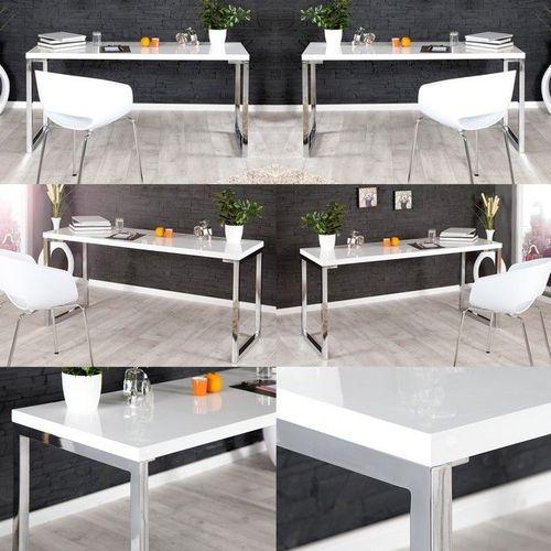 schreibtisch oxford wei hochglanz 140cm portofrei g nstig online bestellen cag onlineshop. Black Bedroom Furniture Sets. Home Design Ideas