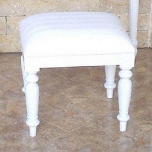 Mahagoni Sekretär COLETTE Weiß 120cm - 3